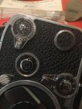 Weinlesekamera Bolex 8mm Lizenzfreies Stockfoto