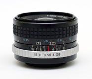 WeinleseKameraobjektiv Stockbild