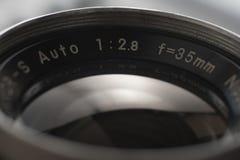 WeinleseKameraobjektiv stockfotos