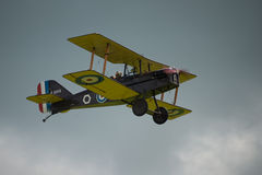Weinlesekampfflugzeug des R.A.F. SE5a stockbilder