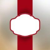 Weinlesekarte mit Feld für Ihren Text. ENV 8 Lizenzfreie Stockbilder