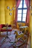Weinlesekinderzimmer im Schloss Lizenzfreie Stockbilder