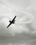 Weinlesekriegflugzeug lizenzfreies stockbild