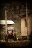 Weinleselandschaft Lizenzfreies Stockfoto