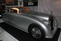 Weinleseluxusauto an der Paris-Autoausstellung Stockfoto