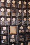 Weinlesemailbox Stockbild