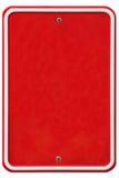 Weinlesemetallschild mit Platz für Text Lizenzfreies Stockfoto