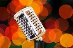 Weinlesemikrofon Lizenzfreies Stockbild