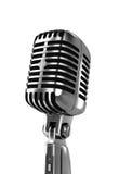 Weinlesemikrofon getrennt Lizenzfreies Stockfoto