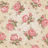 Weinlesenahtloses Blumenmuster Lizenzfreies Stockfoto