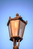 Weinleseparklampe stockbild