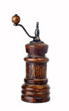 Weinlesepfeffermühle stockbild