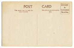 Weinlesepostkarte Lizenzfreies Stockbild
