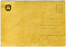 Weinlesepostkarte. Lizenzfreies Stockfoto