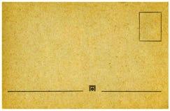 Weinlesepostkarte. Stockbild