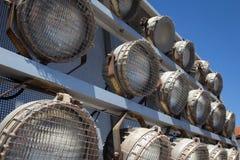 Weinleseprojektorlichter Stockfotos