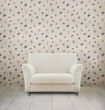 Weinleseraum mit weißem Sofa Lizenzfreies Stockfoto