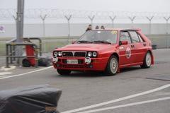 Weinlesesammlung Lancia-Delta lizenzfreie stockfotos