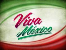 Weinleseschmutz viva Mexiko-Plakat Lizenzfreie Stockfotos