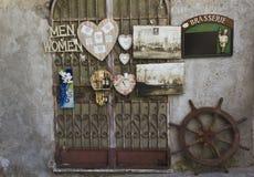 Weinleseshop in Amalfi Lizenzfreies Stockfoto