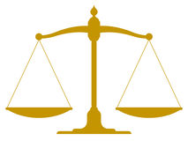 Weinleseskala in der Balance und im Gleichgewicht Lizenzfreie Stockbilder