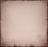 Weinlesestrukturierter Papierhintergrund Stockbild