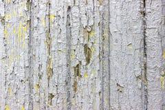 Weinlesetünche malte rustikale alte hölzerne schäbige Plankenwand Texturhintergrund Verblaßte Naturholz-Brett-Gerätelagerung Stockfotografie