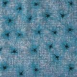 Weinlesetapete - Sterne - Azurblau stockfotografie