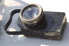 Weinlesetaschenlampe Lizenzfreies Stockfoto