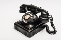 Weinlesetelefon Stockfotografie