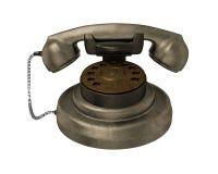 Weinlesetelefon Stockbild