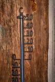 Weinlesethermometer Celsius 20 Grad Blauniveau Lizenzfreie Stockfotos