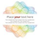 Weinleseverzierung für Ihren Text Lizenzfreie Stockbilder