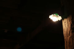 Weinlesewandlampe Lizenzfreies Stockbild