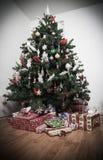 Weinleseweihnachten Stockfotos