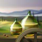 Weinleseweinflaschen lizenzfreie stockbilder