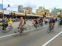 Weinlesezyklusclub von Victoria 2 Lizenzfreie Stockbilder