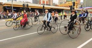 Weinlesezyklusclub von Victoria 4 Lizenzfreie Stockfotografie