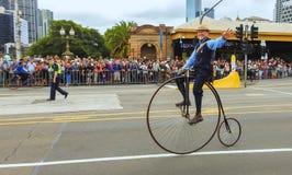 Weinlesezyklusclub von Victoria 8 Lizenzfreie Stockbilder