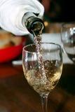 Weinprüfung in Ungarn Stockfotografie
