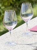 Weinprobe an Weinkellerei Prinzen Stirbey, Rumänien Stockbilder