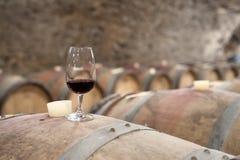 Weinprobieren Stockbild