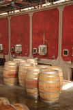 Weinproduktion Stockfoto