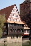 Weinstadl -纽伦堡 免版税库存图片