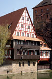 Weinstadl, Nuremberg - Obrazy Royalty Free