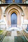 weinstmister Abtei in der antiken Wand Lizenzfreie Stockfotos