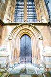weinstmister Abtei in der antiken Wand der Tür und des Marmors Lizenzfreies Stockbild