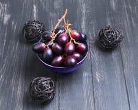 Weintrauben hochrot Lizenzfreies Stockfoto