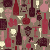 Weinweinlese Stockfoto