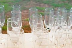 Weinzeit auf der congraturation Partei Stockfoto